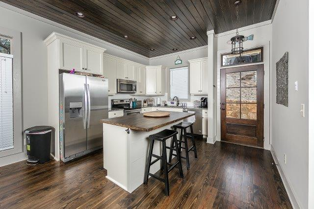 Stainless in kitchen