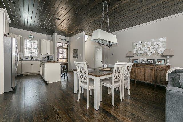 Open Living, kitchen & dining